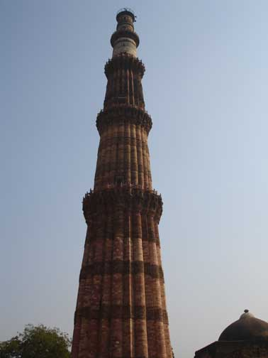 Qutab-Minar, the Tower of Victory